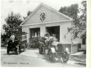 Firehouse in 1929