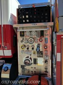 The Driver's Side Pump Panel.