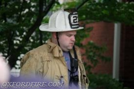 Fire Chief BJ Meadowcroft